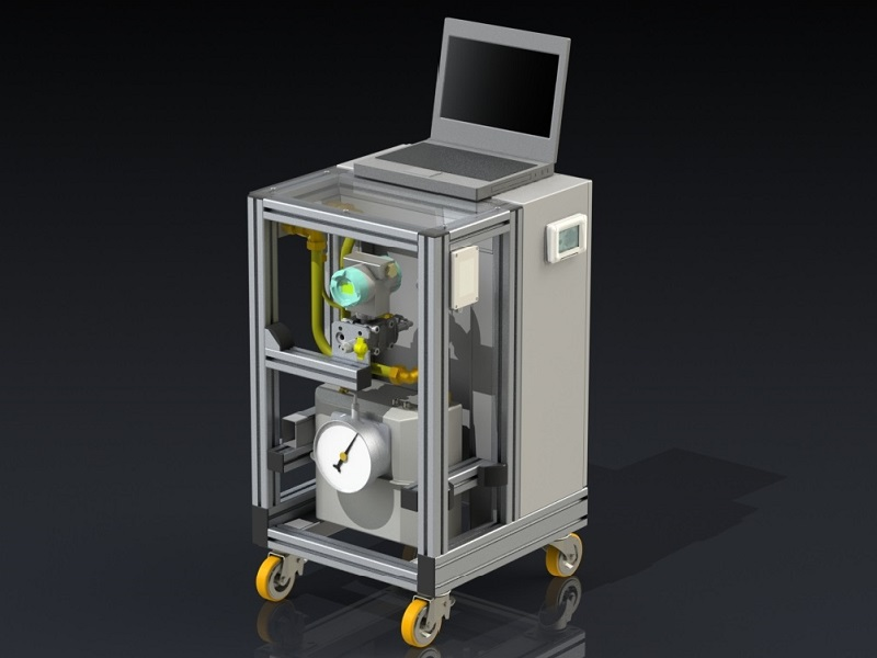 Gas flow-rate calibrator calGFR 1