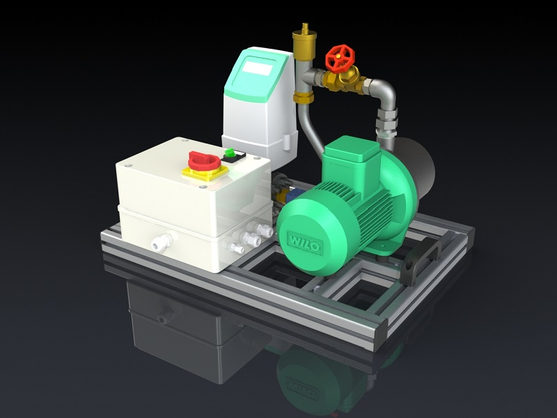 Water flow-rate calibrator calWFR 1