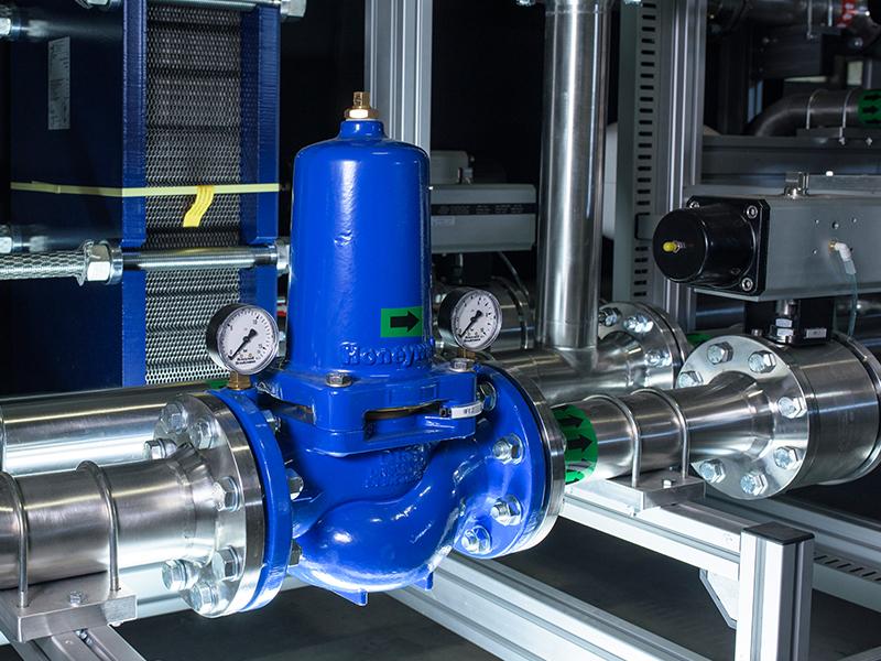 Gas boilers laboratory 2