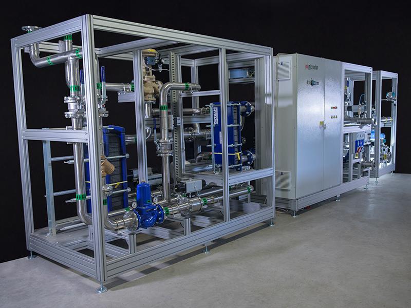 Gas boilers laboratory 4