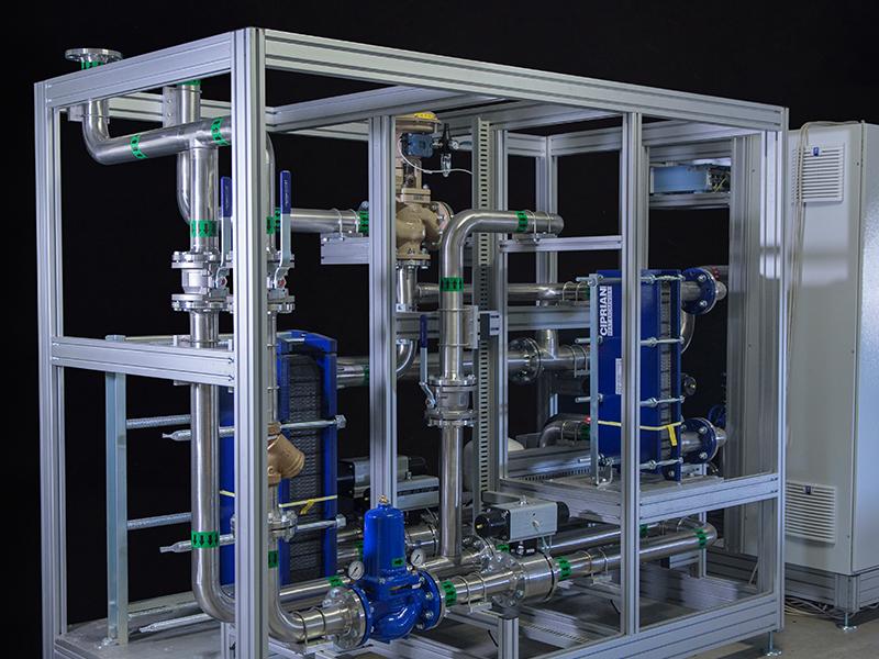 Gas boilers laboratory 5