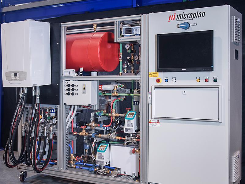 Gas boilers laboratory 1